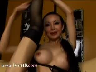 Violent donk hookup with busty chinese doll