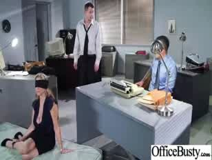 Julia ann orgy in office with huge boob juggs biotch dame clip-21